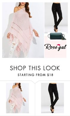 """Love styling"" by ahmetovic-mirzeta ❤ liked on Polyvore featuring rosegal, lovewoman and lovestyling"