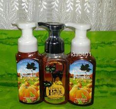 Lot of 3 Bath & Body Works SWEET CINNAMON PUMPKIN Gentle Foaming Hand Soaps…