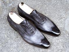 Caulaincourt shoes - White - storm grey
