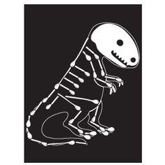 Boning up on dinosaurs? Fun craft using cotton swabs. Patterns provided!