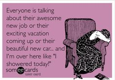 Confessions of a stay at home mom... *sigh* it's so funny that it's not...