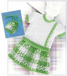 Baby Plaid Crochet Pattern by LittleKiddiesCrochet on Etsy, $7.00