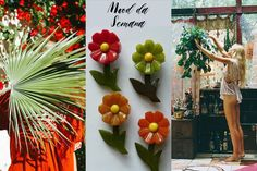 Mood da Semana - floral e bakelite
