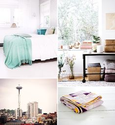 in my dreams, i live here: seattle attic apartment.