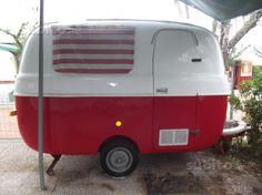 graziella 300 Car Camper, Camper Trailers, Van Kitchen, Eriba Puck, Small Caravans, Gmc Motorhome, Fiat 500, Van Life, Volkswagen