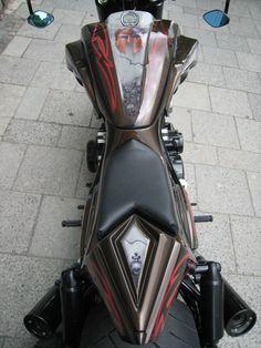 BIG BIKE CUSTOM N°1 München - Home || BIG BIKE N°1 Honda Motorcycles, Cars And Motorcycles, V Max, Truck Accessories, Custom Bikes, Ducati, Vmax Yamaha, Golf Bags, Cool Cars
