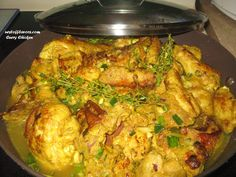 Authentic Jamaican Curry Chicken, enjoy~