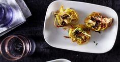 The best Potato Nests with Wild Mushrooms and Avocado Cream recipe you will ever find. Welcome to RecipesPlus, your premier destination for delicious and dreamy food inspiration. Wild Mushrooms, Stuffed Mushrooms, Parsley Potatoes, Avocado Cream, Nests, Cream Recipes, Food Inspiration, Eve