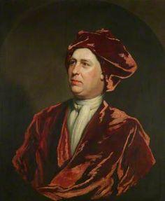 Portrait of a Gentleman in Red Velvet