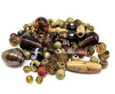 Perles diverses - perles en vrac - perles en verre