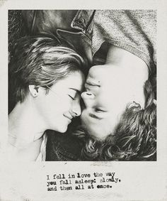 ~ TFIOS ~ Did you read the book? If no, you should because it's so beautiful.