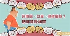 牙周病、口臭、濕疹纏身?肥胖竟是禍首 | 劉博仁 | 減重塑身 | 華人健康網