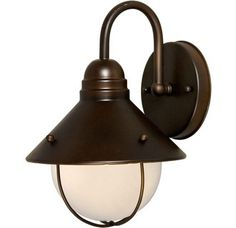 View the Forte Lighting 1041-01 Outdoor Wall Sconce from the Exterior Lighting Collection at LightingDirect.com.