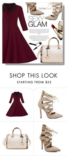 """Sexy glam"" by fashion-pol ❤ liked on Polyvore featuring Lancôme and vintage"