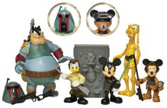 "star wars action figures | Star Wars Disney Action Figures Series 4"" from Disney"