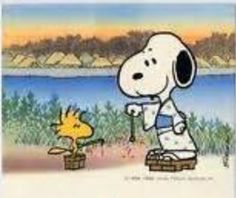 Cute Snoopy & Woodstock!!!