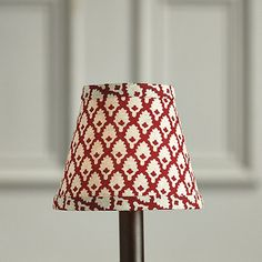 Gillian Red Chandelier Shade