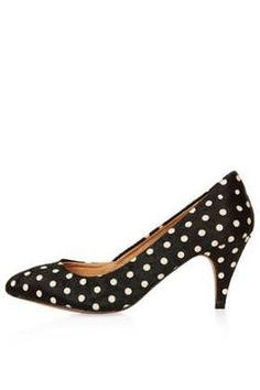 Maple Mid Heel Court Shoe