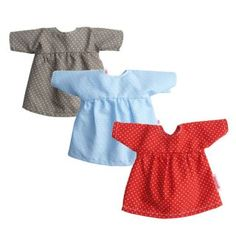 Doll's dresses, handmade, organic, available at www.nordliebe.com