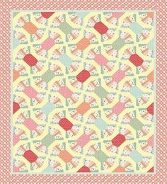 """FREE pattern: """"Sweet Candy Quilt"""" from Moda Bake Shop"""