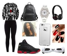 """Hip-Hop"" by shantiboo32 ❤ liked on Polyvore featuring Retrò, MCM, Beats by Dr. Dre, Rolex and LifeProof"