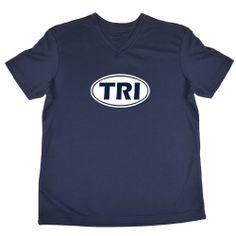 $24.99 - $26.99 cool Triathlon Women's V-Neck Performance Tee - Tri Oval