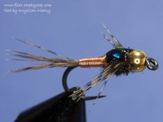Copper John nymph - How to tie fly, Fly tying Step by Step Patterns & Tutorials