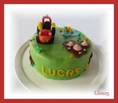 Tracteur Tom à la ferme - Gâteaux en fête de lilou 25