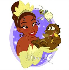 Vanellope Vanity for Disney Nerd, Arte Disney, Disney Fan Art, Disney Love, Disney Magic, Disney Pixar, Kawaii Disney, Tiana And Naveen, Disney Princess Tiana