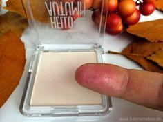 JuliCosmetics: essence Hello Autumn colour adapting powder blush // Review
