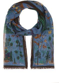 Drake's Bird-Print Cotton-Blend Scarf - Scarves - 504813018http://www.barneyswarehouse.com/product/drake-27s-bird-print-cotton-blend-scarf-504813018.html