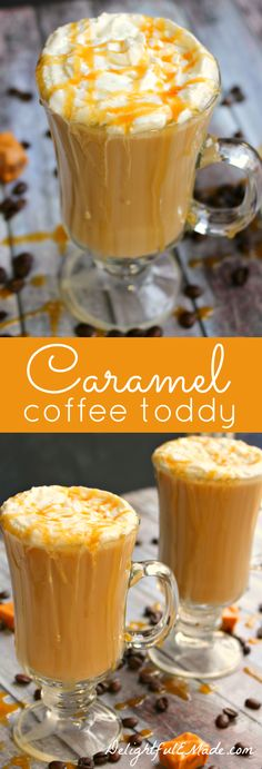 If you love a hot toddy at the end of the day, then you NEED to try this!  Coffee, Bailey's Caramel creme and a few other goodies make this coffee AMAZING! #makecoffee