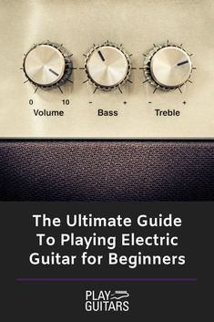 learn electric guitar If youre trying to learn to play electric guitar, you probably know that it can be a daunting prospect. There is definitely a lot to consider, so we are giving you the ultimate guide to playing electric guitar for beginners. Learn Electric Guitar, Electric Guitar Lessons, Fender Electric Guitar, Vintage Electric Guitars, Black Electric Guitar, Electric Guitar For Beginners, Lap Steel Guitar, Leo Fender, Nikki Sixx