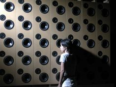 A World Beyond the Loudspeaker an installation with 40 channel wave field recording and wave field synthesis