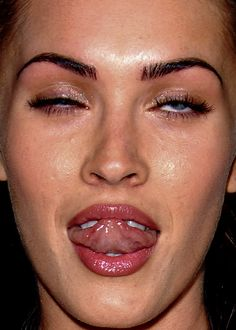 Megan Fox Celebrity Close-Up, A Collection of Unflattering, Extremely Close Photos of Celebrities