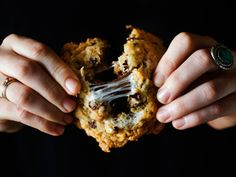 Cornflake Chocolate Chip Marshmallow Cookie Recipe | Momofuku Milk Bar