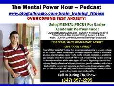 TEST, EXAM, STUDY, OR ACADEMIC ANXIETY HAVE YOU IN A PANIC? Want some insight into approaches to reduce or eliminate anxious states that can cause you to choke or make mistakes on problems you actually know how to solve?   Become excellent at the same types of 'Sports Psychology' tactics that help top-level professional athletes, musicians, public speakers, and others deal with the pressure of upcoming performances.