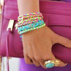 Ettika bracelets- awesome colors
