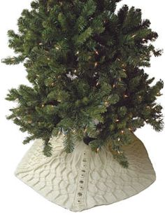 Berroco® Free Pattern | Silent Night Tree Skirt. I think this is over my head, though.