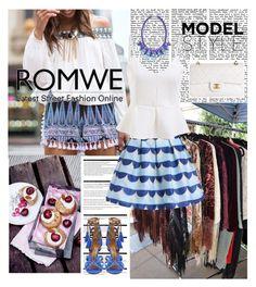 """ROMWE 5/5"" by antonija2807 ❤ liked on Polyvore featuring moda, Reception, Arche, Ek Thongprasert, Chanel y romwe"