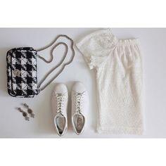 White friday affair 🍾🎲🍾🎲 #tgif #ootd #EFstyleguide