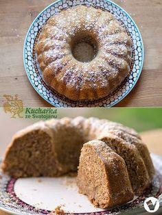 BÁBOVKA S BANÁNEM, JABLKEM A MRKVÍ Healthy Sweets, Healthy Cooking, Bunt Cakes, Czech Recipes, Gluten Free Sweets, Vegan Treats, Sweet Cakes, Pavlova, Bread Recipes