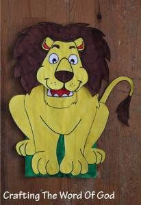 With this craft your kids will be able to make their very own lion for the story of Daniel in the...