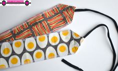 Paleo Bacon and Eggs Crossfit Wrist Wrap by DarlingDeuce on Etsy, $22.00