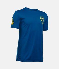Boys' SC30 Fade Away T-Shirt, Royal, zoomed image