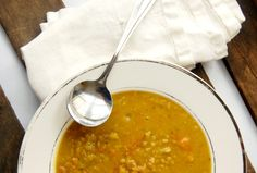 Split pea and country ham soup