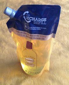 L'Occitane Almond Shower Oil (refill) - review