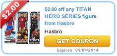 $2.00 off any TITAN HERO SERIES figure from Hasbro