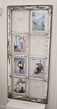 nice 48 Newest Diy Vintage Window Ideas For Home Interior MakeoverYou can find Vintage windows and more on our website.nice 48 Newest Diy Vintage Window. Antique Windows, Vintage Windows, Modern Windows, Old Window Frames, Window Frame Ideas, Window Pane Picture Frame, Old Window Decor, Window Panes, Window Pane Pictures