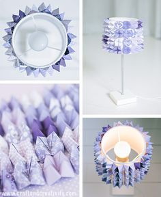DIY Fortune teller lamp, these little origami triangles are so great ! Cool Paper Crafts, Diy Arts And Crafts, Diy Crafts, Diy Paper, Origami Fortune Teller, Diy Luminaire, Diy Projects To Try, Decorating Your Home, Paper Crafting